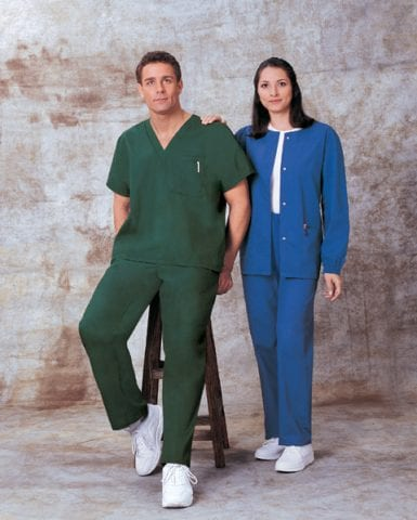 Scrubs suits and medical uniforms from AWB Textiles