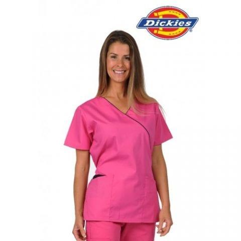 bright-pink-scrub-suit-dickies