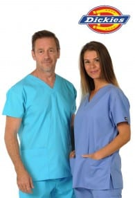 Our bestselling medical uniforms comes as a multi pocket top and trousers