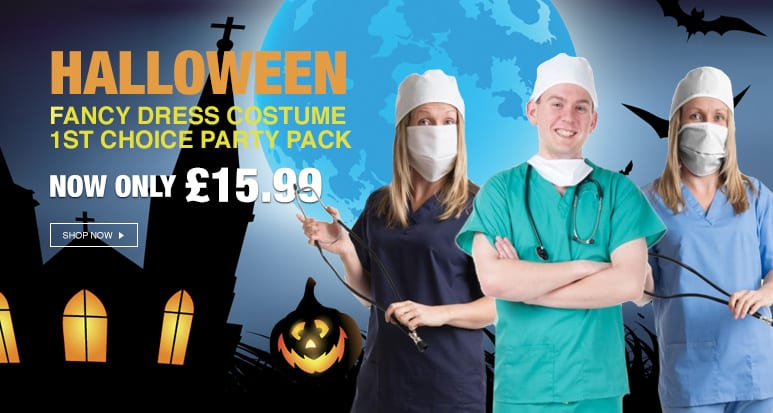 Catch our latest Halloween inspired offer - costume party pack!