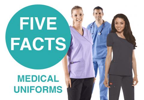 Explore our five facts about UK medical uniforms