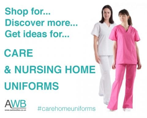 Care and nursing home uniforms from AWB Textiles