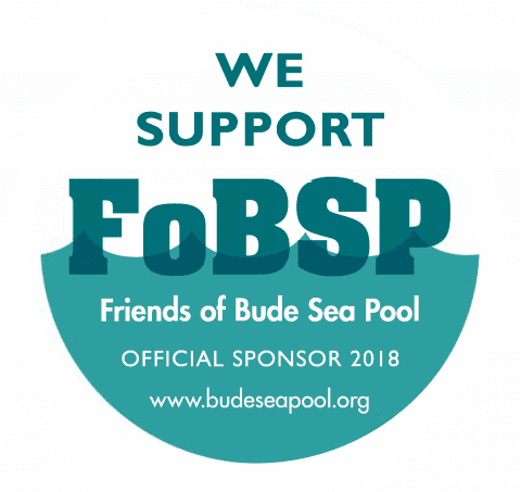 We're proud to sponsor the Bude Sea Pool