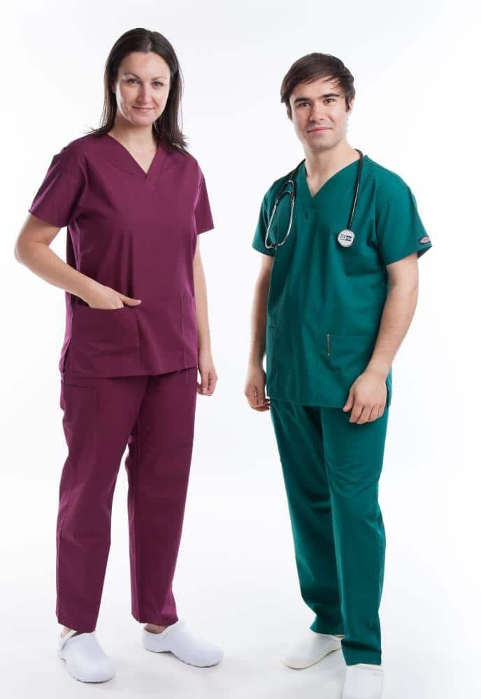 dickies multi pocket unisex scrub suit